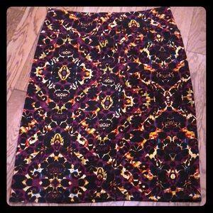 Printed Pencil skirt - LulaRoe Cassie